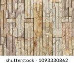 bricks wall seamless background ... | Shutterstock . vector #1093330862