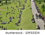 sunday afternoon in the park | Shutterstock . vector #10933324