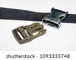 lock for backpack straps | Shutterstock . vector #1093333748