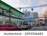 phuket thailand   sept. 1  ...   Shutterstock . vector #1093336682