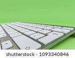 modern pc keyboard with spy... | Shutterstock . vector #1093340846