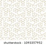 abstract geometric pattern with ... | Shutterstock .eps vector #1093357952