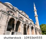 exterior view of sehzade camii... | Shutterstock . vector #1093364555