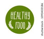 eat healthy food | Shutterstock .eps vector #1093433186