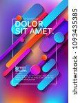minimalistic design  creative... | Shutterstock .eps vector #1093435385