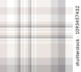 seamless plaid check pattern in ... | Shutterstock .eps vector #1093457432
