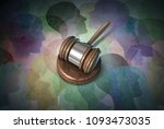 social security law and... | Shutterstock . vector #1093473035