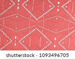 texture  pattern. cloth red... | Shutterstock . vector #1093496705