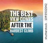 inspirational motivation quote... | Shutterstock . vector #1093532042
