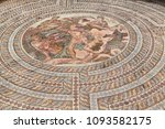 in paphos cyprus the old mosaic ...   Shutterstock . vector #1093582175