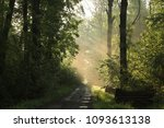 country road through a... | Shutterstock . vector #1093613138