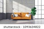loft and vintage of living room ... | Shutterstock . vector #1093634822
