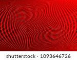 gradient polka dots red...   Shutterstock .eps vector #1093646726