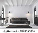scandinavian living room 3d... | Shutterstock . vector #1093650086