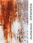 metal rust background metal... | Shutterstock . vector #1093656926