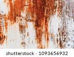 metal rust background metal... | Shutterstock . vector #1093656932