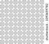 seamless abstract black texture ... | Shutterstock . vector #1093659782