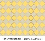 arabic mosque vector seamless... | Shutterstock .eps vector #1093663418