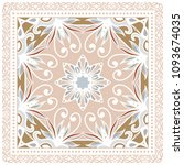 decorative colorful ornament on ... | Shutterstock .eps vector #1093674035