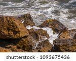 amazing sea with blue summer...   Shutterstock . vector #1093675436