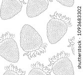 coloring seamless pattern... | Shutterstock .eps vector #1093683302