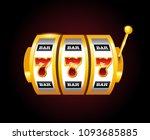 casino vector golden slots... | Shutterstock .eps vector #1093685885