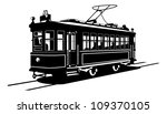 vector black and white... | Shutterstock .eps vector #109370105