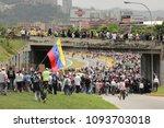caracas venezuela 04 26 2017 ... | Shutterstock . vector #1093703018