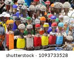 traditional african wooden... | Shutterstock . vector #1093733528