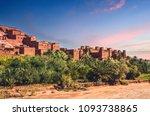 kasbah ait ben haddou in the... | Shutterstock . vector #1093738865