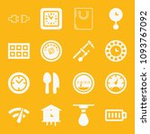 tool filled set of vector icons ...   Shutterstock .eps vector #1093767092