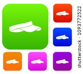 golf visor set icon color in... | Shutterstock . vector #1093772522