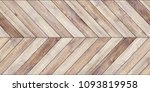 Stock photo seamless wood parquet texture horizontal chevron common 1093819958