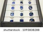 a lot of blue sapphire set of... | Shutterstock . vector #1093838288