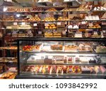 assortment of cakes and... | Shutterstock . vector #1093842992