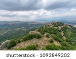 view of hula valley landscape... | Shutterstock . vector #1093849202