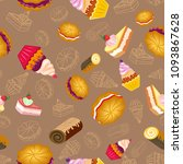 confection  bakery products.... | Shutterstock . vector #1093867628