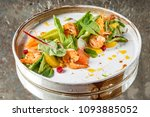 salad with shrimps | Shutterstock . vector #1093885052