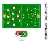 football match serbia versus...   Shutterstock .eps vector #1093890296