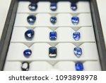 a lot of blue sapphire set of... | Shutterstock . vector #1093898978