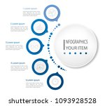 business data visualization.... | Shutterstock .eps vector #1093928528