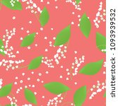 seamless pattern with vector... | Shutterstock .eps vector #1093939532