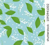 seamless pattern with vector... | Shutterstock .eps vector #1093941002