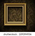 picture frame wallpaper... | Shutterstock .eps vector #109394936