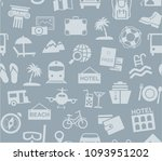 different types of recreation... | Shutterstock .eps vector #1093951202