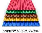 creative abstract 3d render... | Shutterstock . vector #1093959506