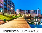house building and city... | Shutterstock . vector #1093959512