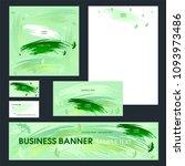 set design templates.... | Shutterstock .eps vector #1093973486