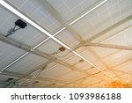 under solar cell tray  solar...   Shutterstock . vector #1093986188