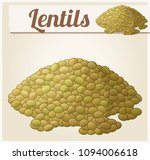 lentils. detailed icon. series... | Shutterstock . vector #1094006618